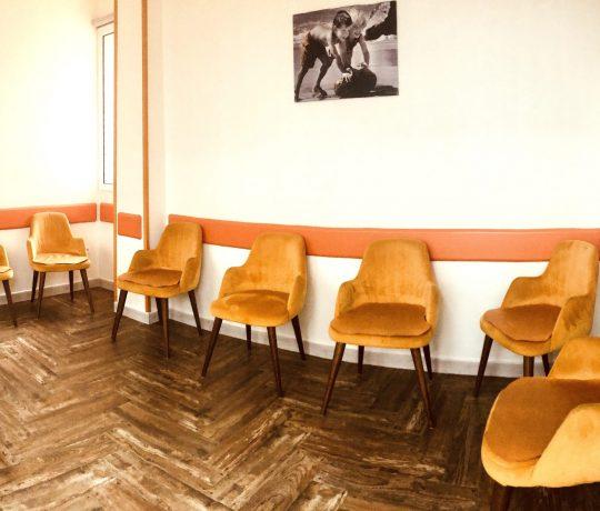 Salle d'attente gynécologie